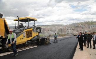 Şanlıurfa'da asfalt yol atağı
