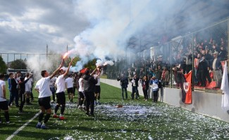 Sarayköyspor'da şampiyonluk coşkusu