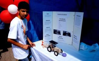 Sarıgöl Atatürk Ortaokulu Bilim Fuarı açıldı