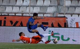 Spor Toto 1. Lig: Adanaspor: 0 - Adana Demirspor: 0 (İlk yarı sonucu)