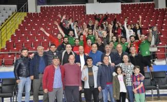 Şuhut Belediye Hisarspor Büyük Erkekler Voleybol İl Şampiyonu oldu