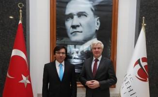 Vali Vekili Avşarbey, Almanya'nın İstanbul Başkonsolosu Reiffenstuel'i kabul etti