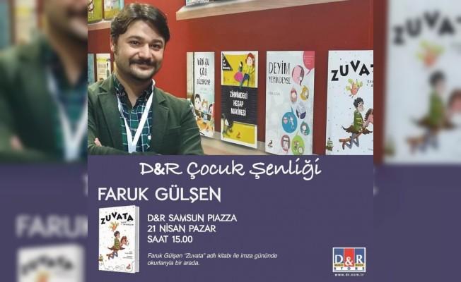 Yazar Faruk Gülşen, Samsunlu çocuklarla buluştu