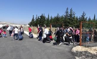 10 bin Suriyeli bayram için ülkesine gitti