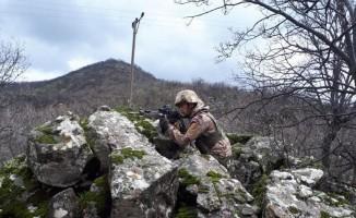 2 teröristin öldürüldüğü bölgede operasyon sürüyor
