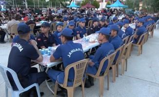 5 bin kişi iftar sofrasında buluştu