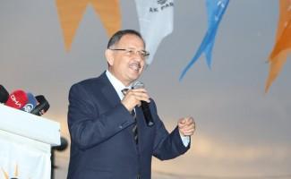 AK Parti Genel Başkan Yardımcısı Özhaseki Keskin'i ziyaret etti