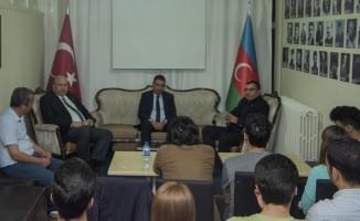 Anadolu Üniversitesi Azerbaycanlı öğrencilerle buluştu