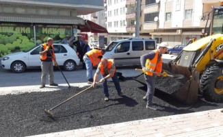 Bafra'da asfalt çalışmaları