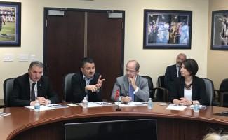 Bakan Pakdemirli, Florida Uluslararası Üniversitesi'ni ziyaret etti