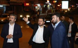 Belediye Başkanı Rasim Arı'nın gece mesaisi