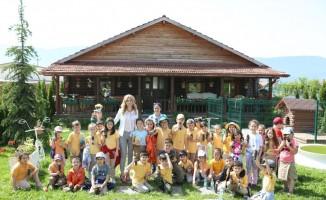 Bolu'da, minik öğrenciler toprakla buluştu