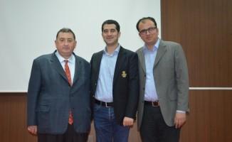 """Bolvadin'de Yeni İpek Yolu """"Bir Kuşak Bir Yol (OBOR)"""" Konferansı"""