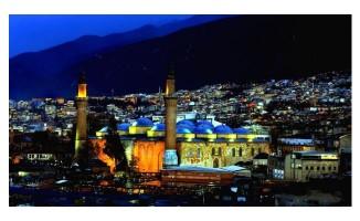 Bursa iftar ve imsak saatleri
