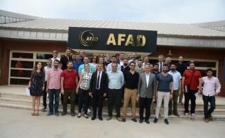 Diyarbakır'da öğretmenler, arama-kurtarma eğitimlerini tamamlandı