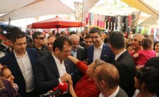 Ekrem İmamoğlu, Pendik ve Tuzla'da ziyaretlerde bulundu