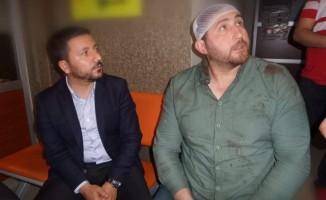 Ergene Velimeşespor - Nevşehir Belediyespor maçı sonrası arbede çıktı