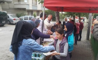 Geleneksel Türkmen iftar yemeği yapıldı