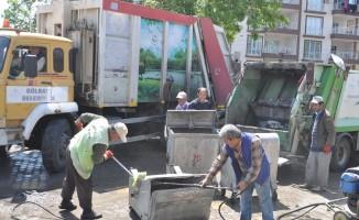 Gölbaşı ilçesinde temizlik seferberliği