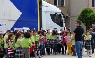 Hisarcık'ta halka ve öğrencilere deprem eğitimi