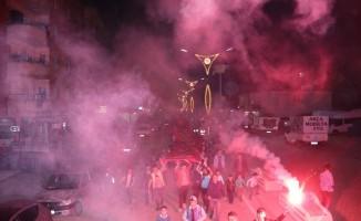 Hizan'da meşaleli yürüyüş