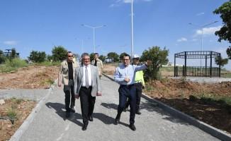 Kahta'da Halil İbrahim mesire alanı yaşam alanına dönüşüyor