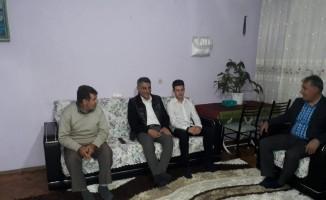 Kaymakam Özkan'dan aile ziyaretleri