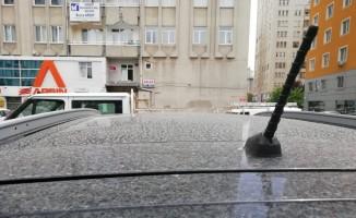 Kayseri'de Yağmur Yerine Çamur Yağdı