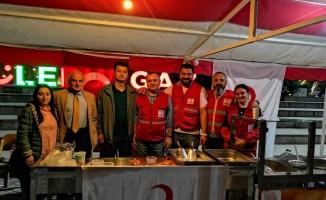 Kızılay'dan Gençlik Haftası'nda lokma ikramı