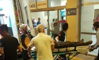 Lahmacun sırasında iki grup birbirine girdi: 5 yaralı