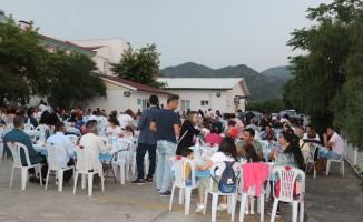 Marmaris Devlet Hastanesi'nden iftar yemeği