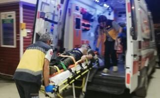 Motosikleti ile intihar girişiminde bulundu iddiası