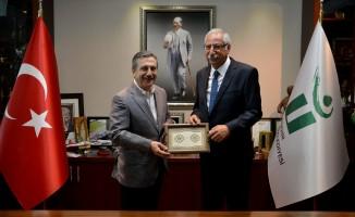 Nidai Güngördü'den Başkan Ataç'a ziyaret