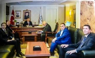 Rektör Durmuş'tan Kamu Başdenetçisi Malkoç'a ziyaret