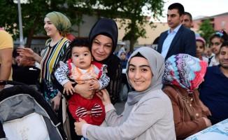 Sancaktepe'de 5 bin kişi iftar sofrasında bir araya geldi