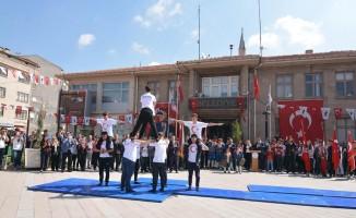 Sandıklı'da 19 Mayıs Gençlik ve Spor Bayramı kutlandı