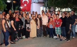 Şehit Mehmet Dinek ve ailesi Ramazan'da da unutulmadı