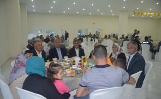 Selendi'de şehit yakınları ve gazilere iftar