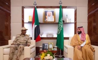 Suudi Veliaht Prens, Sudan Askeri Geçiş Konseyi Başkan Yardımcısı ile görüştü