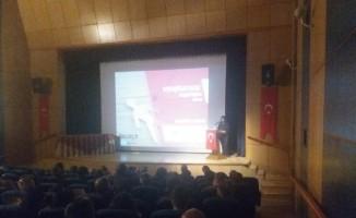 """Tatvan'da """"Madde bağımlılığı"""" semineri düzenledi"""