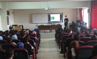 """Tatvan'da öğrencilere """"Okullarda gıda güvenirliği, gıda kayıpları ve israf"""" eğitimi verildi"""