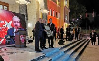 """TBMM Başkanı Şentop: """"Türkiye ve Kuzey Makedonya'nın dostluğu tüm Balkanlar ve tüm dünya için örnek teşkil etmektedir"""""""