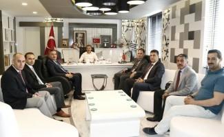 TP Bölge Müdürü Aslandere Başkan Kılıç ile bir araya geldi