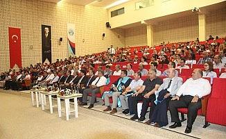 7 Aralık Üniversitesinde akademisyenler törenle cübbe giydi