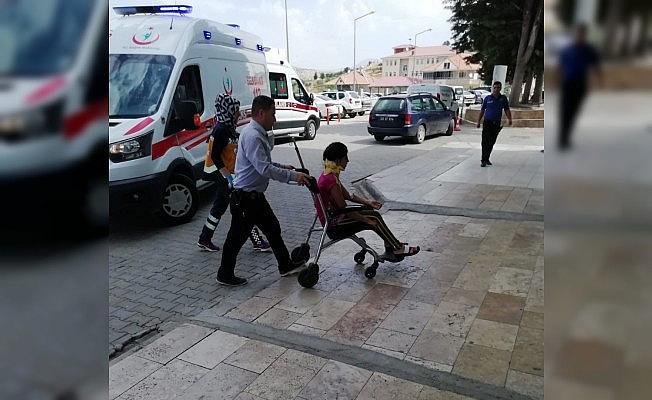 Adıyaman'da iki otomobil çarpıştı: 4 yaralı