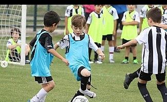 Afyonkarahisar'da Beşiktaş Spor Okulları Yaz Kampı başladı