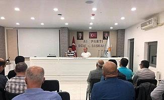 AK Parti İl Teşkilatı Toplantısı yapıldı