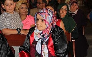 Altındağ'da okuma yazma öğrenen kadınlara  sertifika verildi