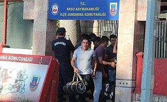 Antalya'da erken terhis sevinci