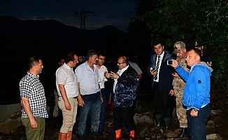 Araklı'nın Çamlıktepe mahallesinde yaşanan sel sonrası kayıp sayısı artıyor